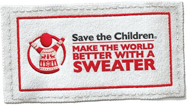 Make the World Better with a Sweater logo