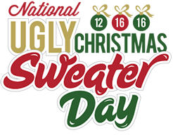 National Ugly Christmas Sweater Day. home · where to buy